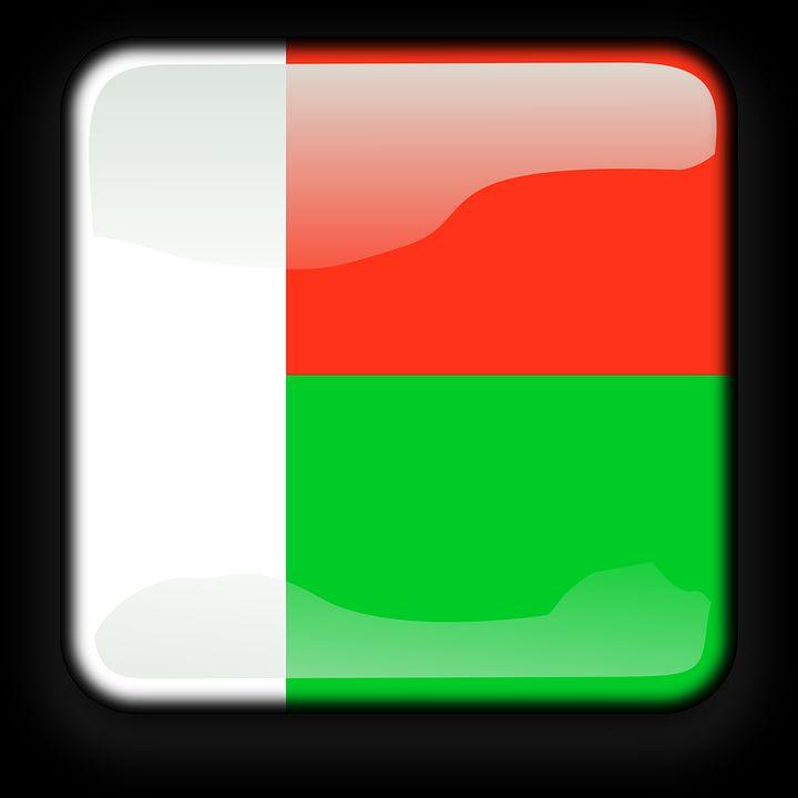 Drapeau Madagascar - Le drapeau malgache