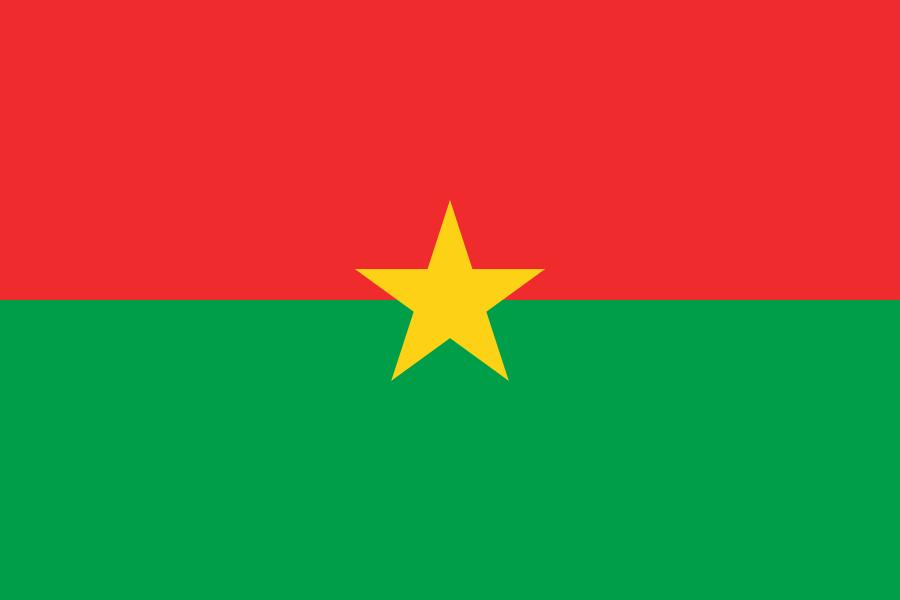 Drapeau Burkina-Faso - Le drapeau burkinabé