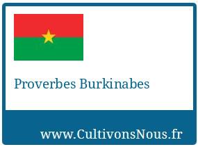 Proverbes Burkinabes