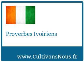 Proverbes Ivoiriens