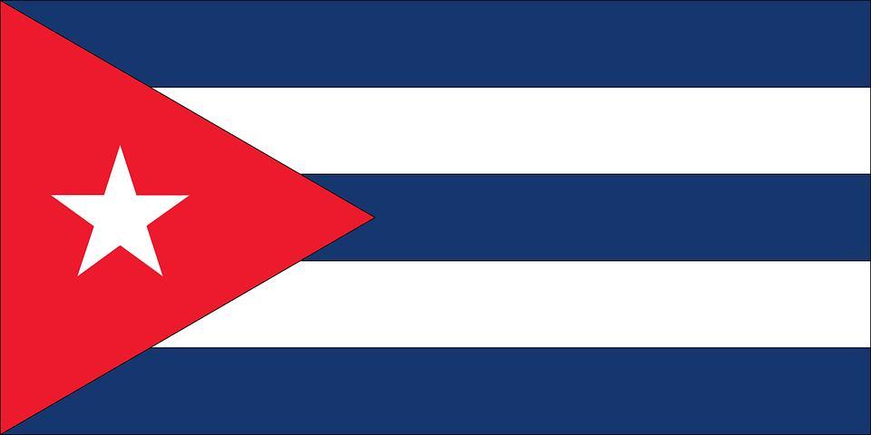 Drapeau Cuba - Le drapeau cubain