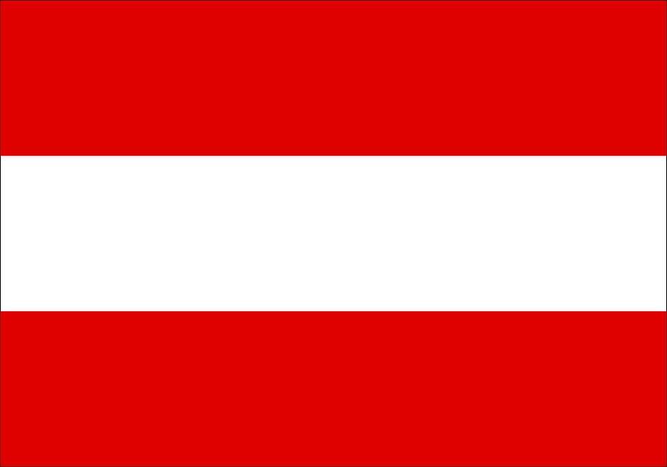 Drapeau Autriche - Le drapeau autrichien