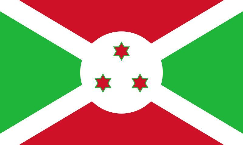 Drapeau Burundi - Le drapeau burundais
