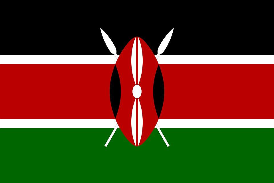 Drapeau Kenya - Le drapeau kenyan
