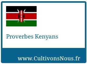 Proverbes Kenyans