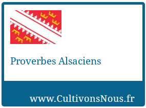 Proverbes Alsaciens