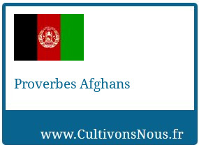 Proverbes Afghans