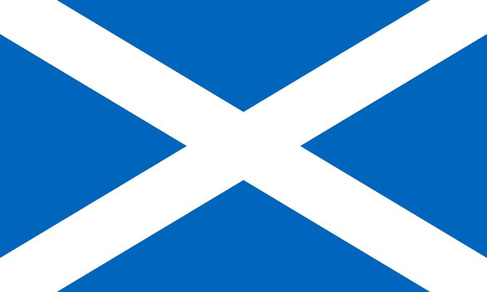 Drapeau Écosse - Le drapeau écossais