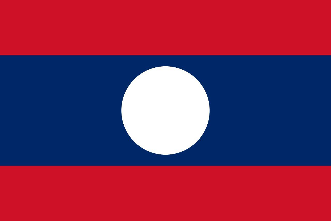 Drapeau Laos - Le drapeau laotien