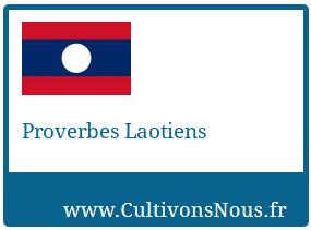 Proverbes Laotiens