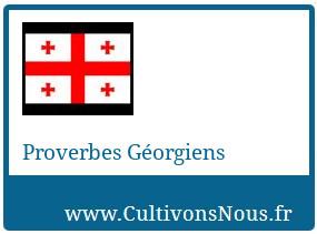 Proverbes Géorgiens