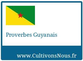 Proverbes Guyanais
