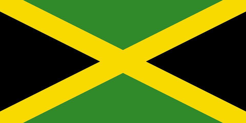 Drapeau Jamaïque - Le drapeau jamaicain