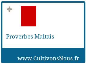 Proverbes Maltais