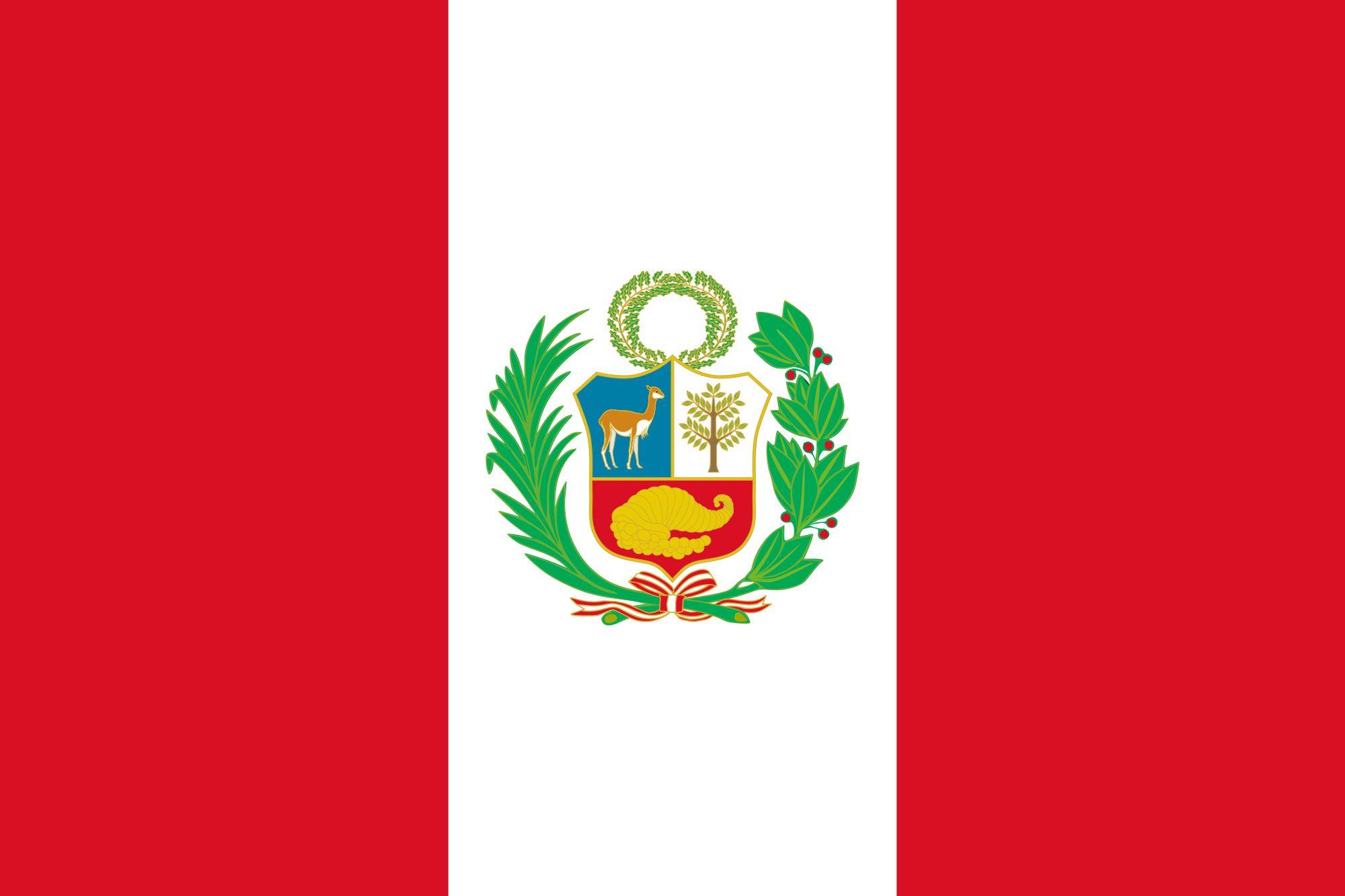 Drapeau Pérou - Le drapeau péruvien