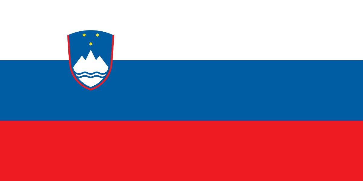 Drapeau Slovénie - Le drapeau slovène