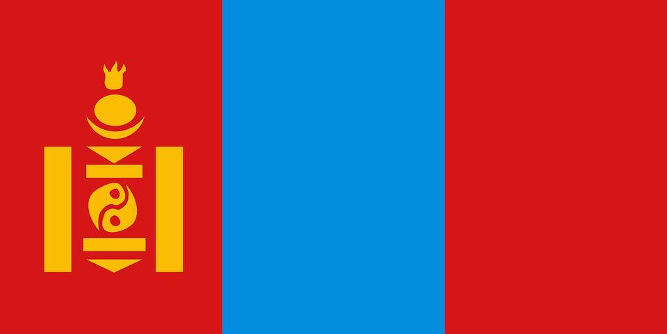Drapeau Mongolie - Le drapeau mongol