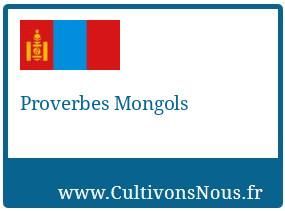 Proverbes Mongols