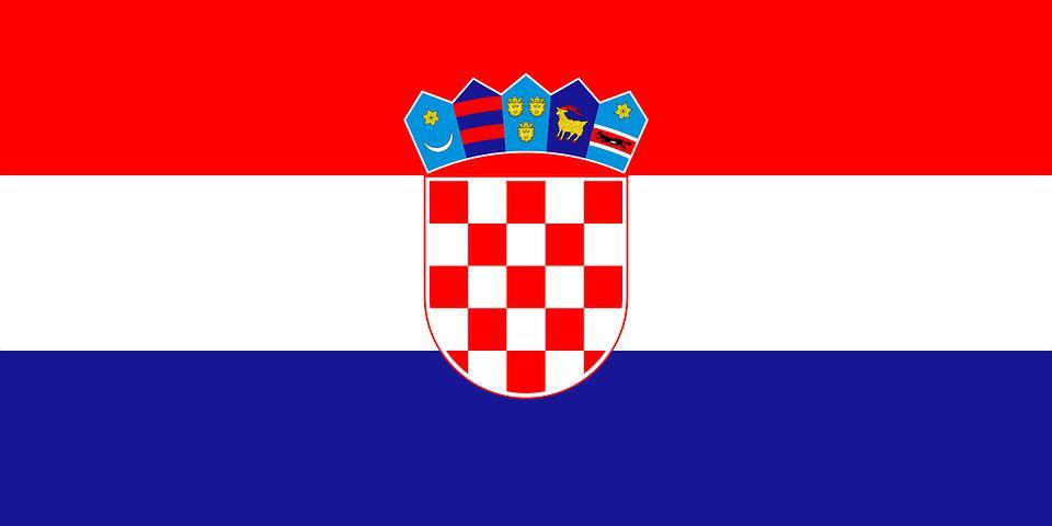 Drapeau Croatie - Le drapeau croate