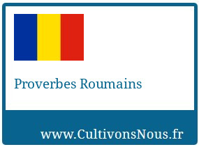 Proverbes Roumains