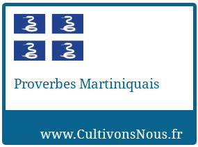 Proverbes Martiniquais
