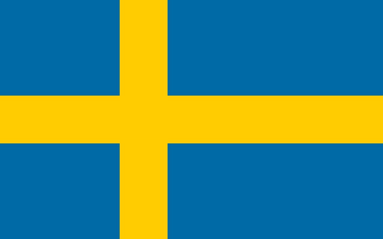 Drapeau Suède - Le drapeau suédois