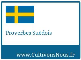 Proverbes Suédois