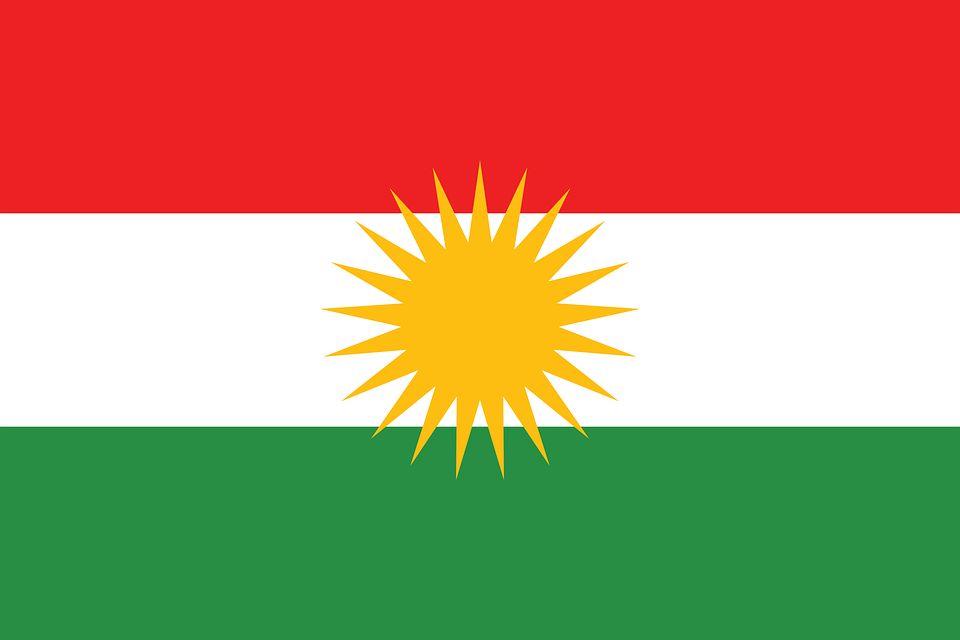 Drapeau Kurdistan - Le drapeau kurde