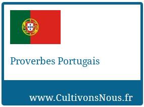 Proverbes Portugais