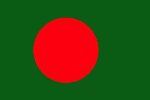 Drapeau Bangladesh - Le drapeau bangladais