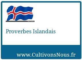 Proverbes Islandais
