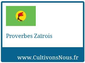 Proverbes Zaïrois