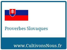 Proverbes Slovaques