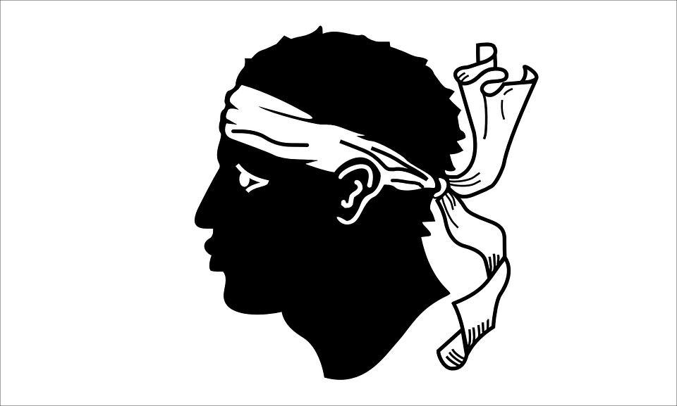 Drapeau Corse - Le drapeau Corse