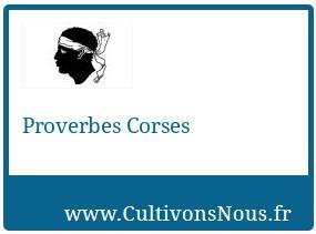 Proverbes Corses
