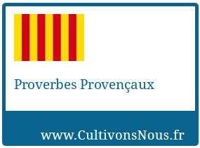Proverbes Provençaux