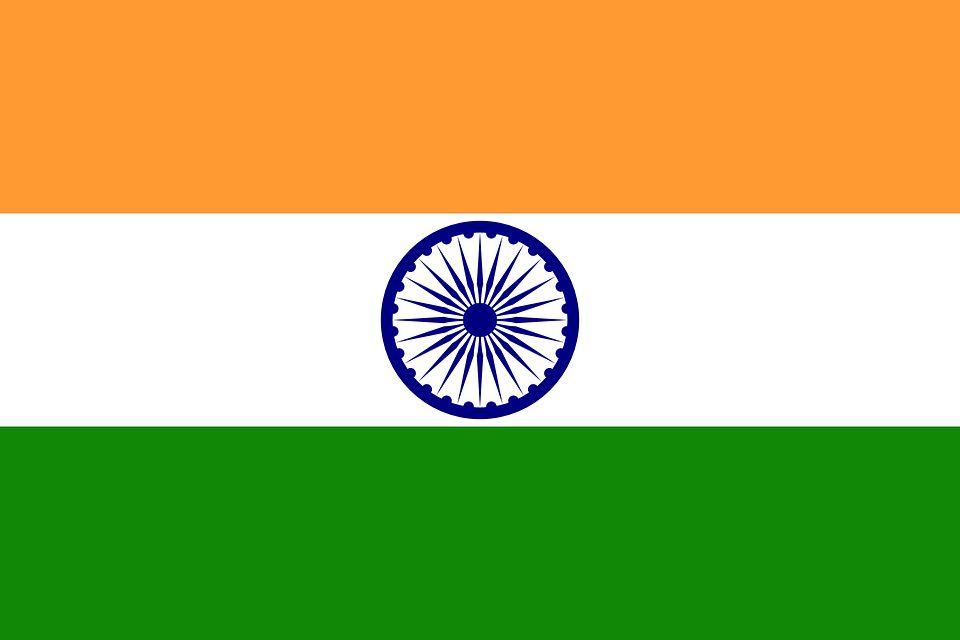 Drapeau Inde - Le drapeau indien