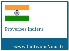 Proverbes Indiens
