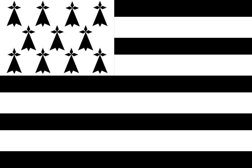 Drapeau Bretagne - Le drapeau breton