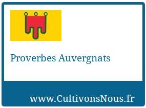 Proverbes Auvergnats