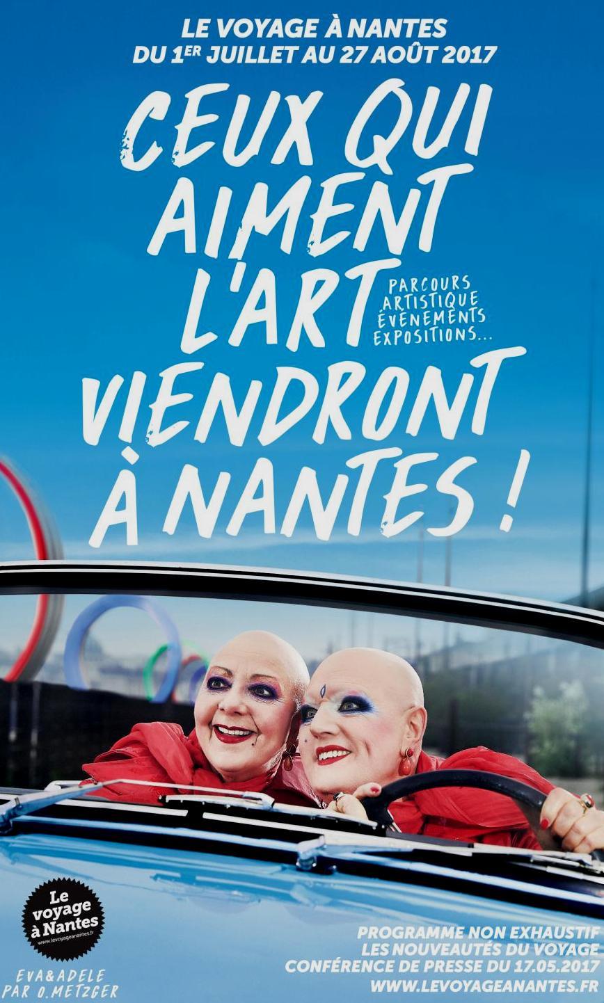 Eté 2017 : découvrez la nouvelle édition du Voyage à Nantes