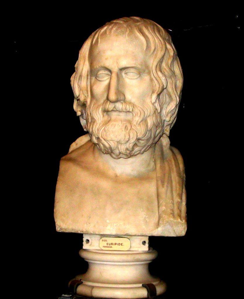Euripide, histoire et biographie d'Euripide