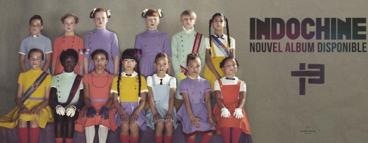 La pochette du nouvel album du groupe Indochine, réalisée par Erwin Olaf