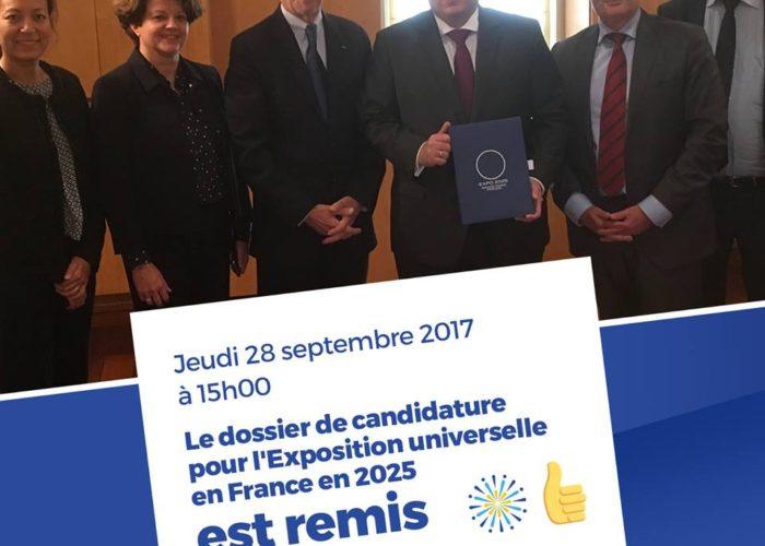 Exposition universelle 2025 : la France propose Paris-Sarclay comme lieu d accueil