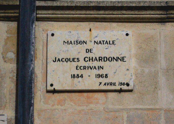 Jacques Chardonne, histoire et biographie de Chardonne