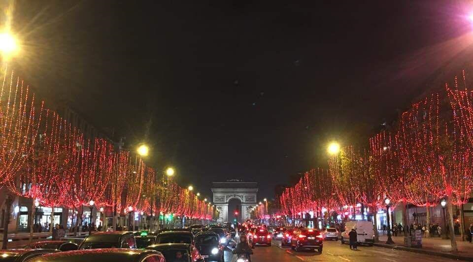 Champs-Elysées Paris 2018