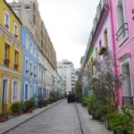 Rue Crémieux: une rue joliment colorée de Paris