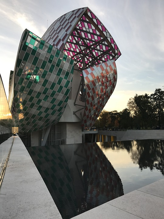 L'architecture de la fondation Louis Vuitton