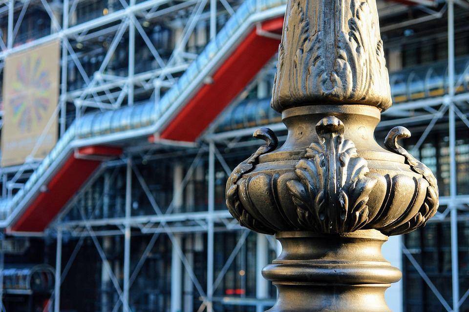 L'architecture du Centre Pompidou