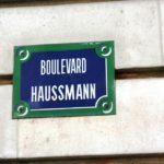 Le Boulevard Haussmann, l'un des plus élégants boulevards de Paris